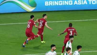 قطر تتأهل إلى ربع نهائي أمم آسيا على حساب العراق