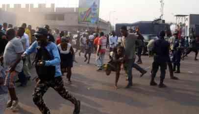 قوات الأمن الكونغولية تعتقل العشرات من أنصار المعارض مارتن فايولو 21