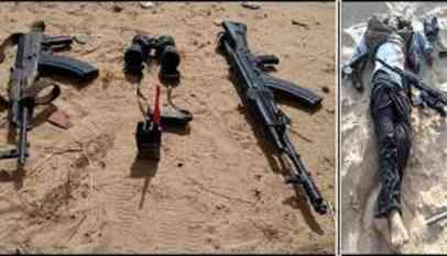 مقتل 59 مسلح علي ايد قوات الجيش المصري