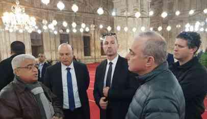 ماذا يفعل وزير الطاقة الإسرائيلي شطاينيتس بمسجد محمد علي؟ 1