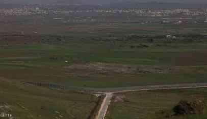 سقوط قذيفة من الأراضي السورية على الجولان