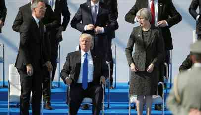 ترامب بحث الانسحاب من الناتو