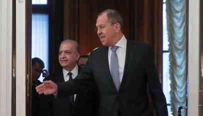 وزير الخارجية العراقي من موسكو