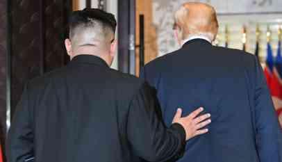 كيم كونغ أون يتلاعب بترامب