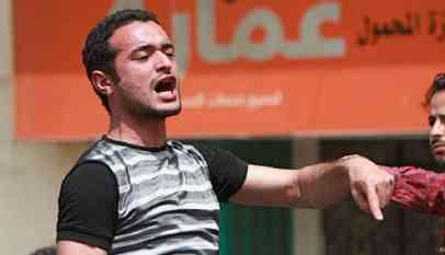 حبس ناشط سياسي