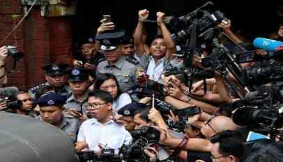 ميانمار تؤيد حبس صحفيي رويترز