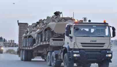 تعزيزات عسكرية سعودية عند الحدود مع اليمن
