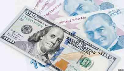 سعر صرف الليرة التركية أمام الدولار