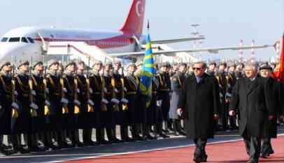 أردوغان يصل العاصمة الروسية