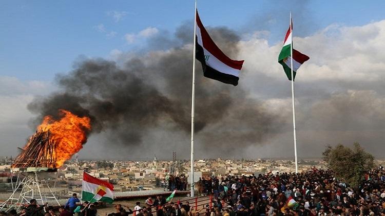العلم الكردي في كركوك