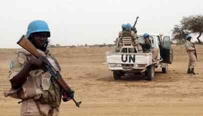 قوات حفظ السلام في مالي
