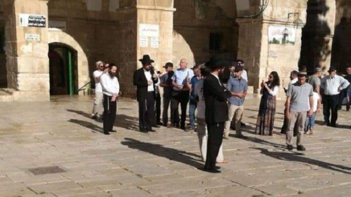 عضو كنيست إسرائيلي يقتحم المسجد الأقصى