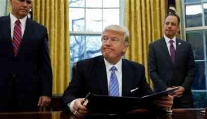 ترامب يهاجم وضع المهاجرين