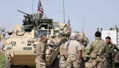 القوات الأمريكية تقتحم الحدود العراقية