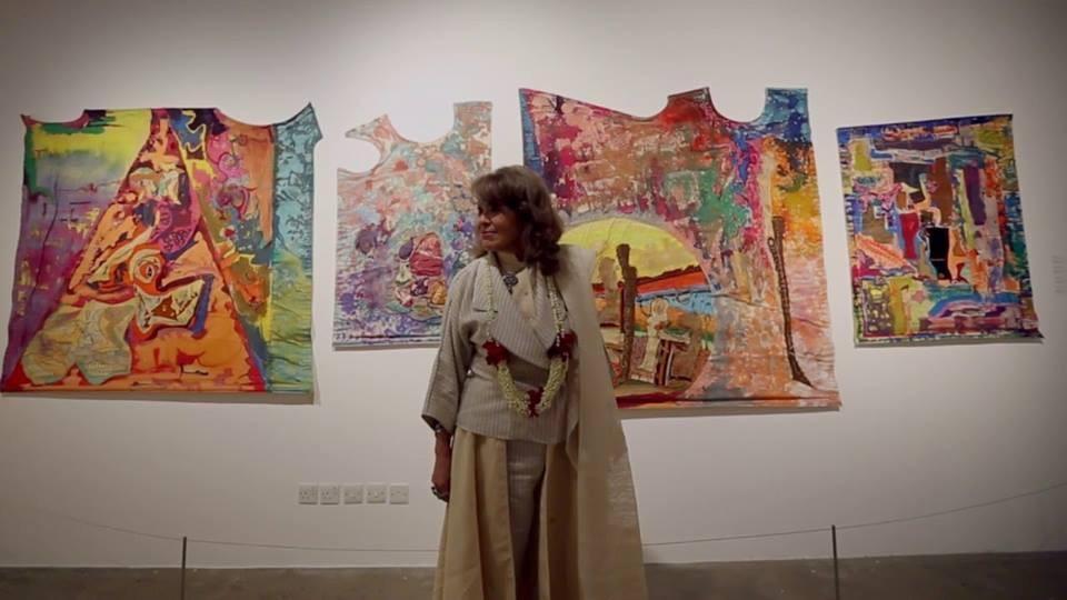 رحيل فنانة تشكيلية سعودية واطلاق اسمها على إحدى دور العرض
