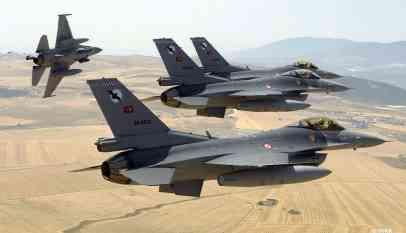 ضربات جوية تركية