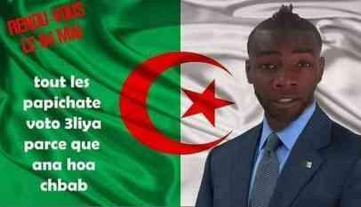 أنوش مافيا يترشح لرئاسة الجمهورية في الجزائر 14