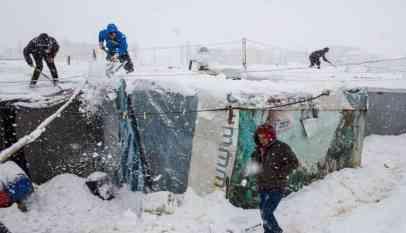 نداءات استغاثة من لاجئين سوريين