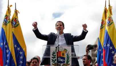 زعيم المعارضة في فنزويلا