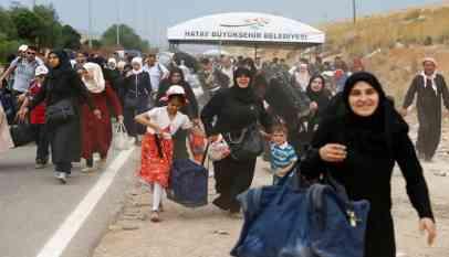 إعادة 120 لاجئا سوريا من تركيا