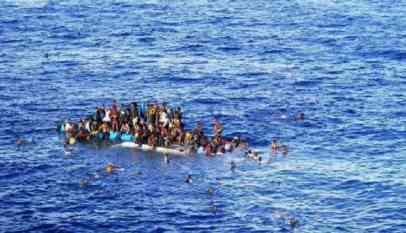 المهاجرين المتوفين بالمتوسط