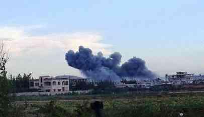 قصف نظامي على شمال سوريا