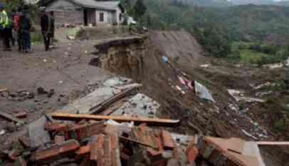 زلزال بقوة 5.7 درجة يضرب غربي إندونيسيا