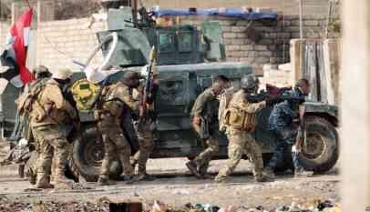 القوات العراقية تدمر أنفاقا لداعش