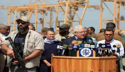 الحوثيون يتهمون جريفيث