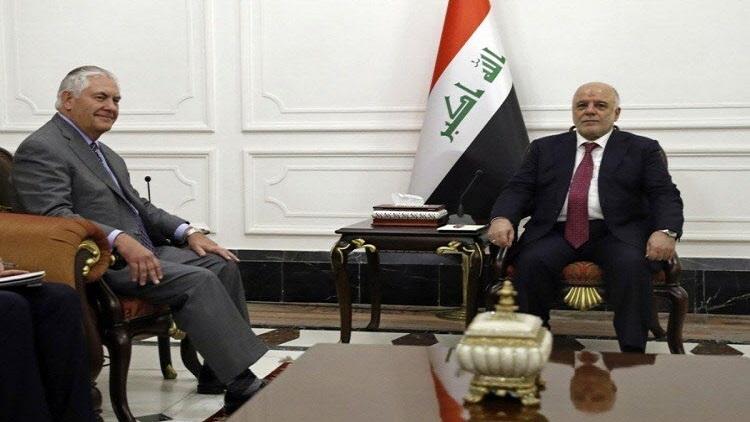 وزير خارجية أمريكا يصل بغداد