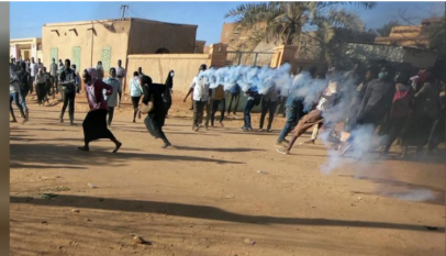 اشتعال الثورة السودانية بسبب مقتل مهندس فى أم درمان