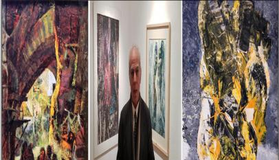 معرض الفنان عبادة الزهيرى بمتحف الفن المصرى الحديث