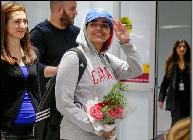 """رهف بنت السعودية اللاجئة الى كندا"""" الأسباب والحلول"""""""