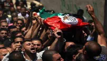 استشهاد فلسطيني متأثرا بإصابته