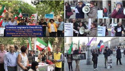 تظاهرات في عدة مدن أوروبية