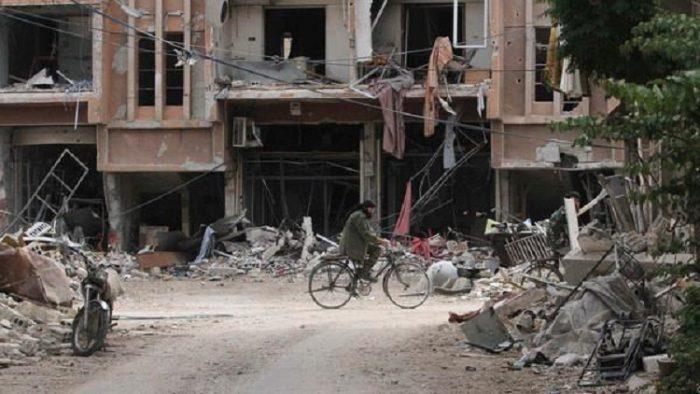 غارات روسية على حلب