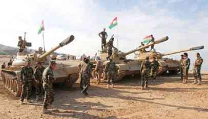 القوات العراقية والبيشمركة