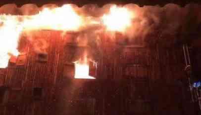 حريق هائل في منتجع سياحي فرنسي