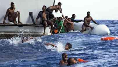 غرق 203 مهاجرا
