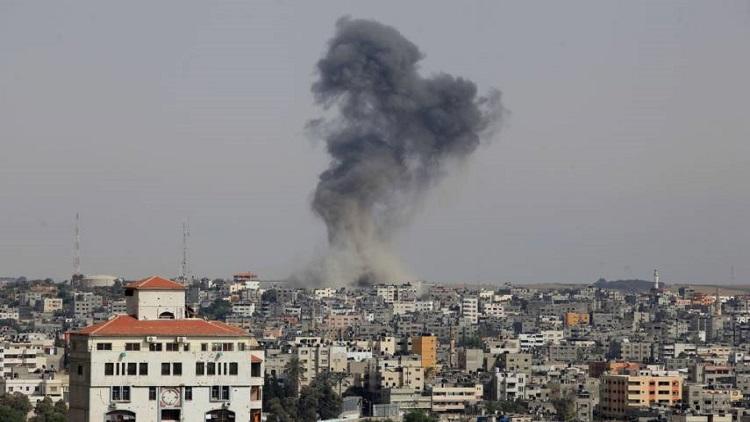 غارة إسرائيلية على موقع تابع لحماس