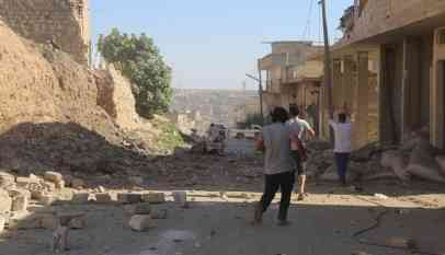 هجمات النظام السوري