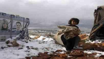 وفاة طفلة سورية من الصقيع