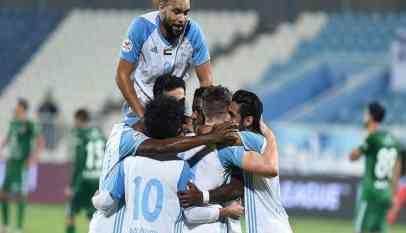 بني ياس يفوز على الجزيرة ويمنعه من وصافة الدوري الإماراتي