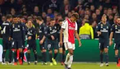 بهدف قاتل ريال مدريد يطيح بأياكس أمستردام علي ملعبه 5