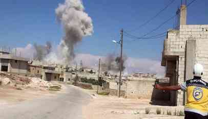 عدوان نظامي جديد على إدلب