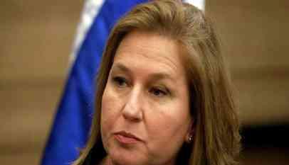 تسيبي ليفني الوزيرة الإسرائيلية