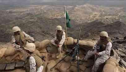السيطرة على أراضي سعودية