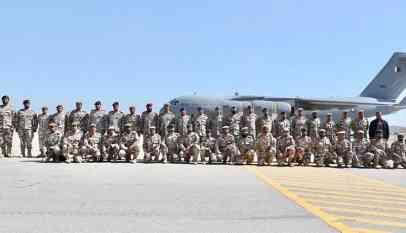 قوة عسكرية قطرية تصل السعودية