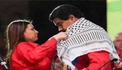 مادورو يوجه تحية للاسرى الفلسطينيين