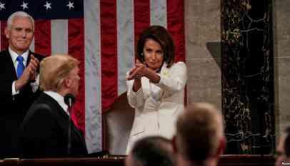 ترامب يتعرض لموقف محرج في الكونغرس